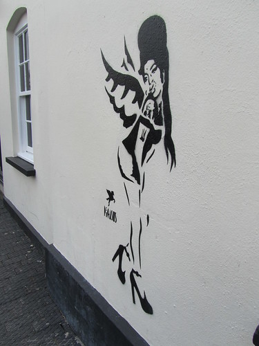 Amy Winehouse by Pegasus, by Camden Lock