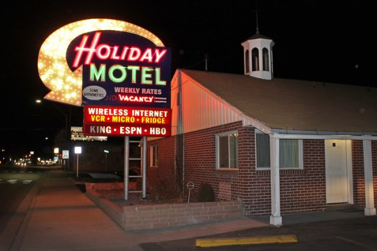 Holiday Motel - 1276 Idaho Street, Elko, Nevada U.S.A. - January 6, 2012