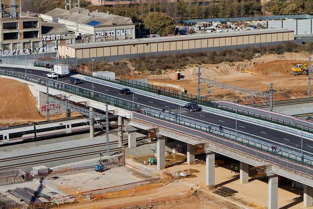 Nuevo puente del Trabajo - Detalle - 30-01-12