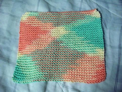 Simple washcloth