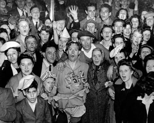 Victory celebrations, 1945