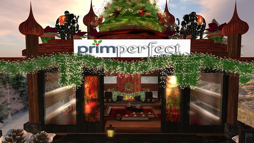 Prim Perfect at the Christmas Expo - designed and photographedby Eliza Wierwright