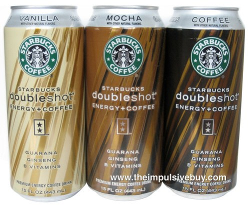 Review Starbucks Doubleshot Energy Coffee Energy Drink