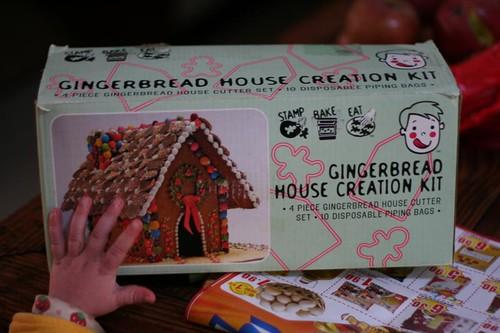 Retro Gingerbread House Kit