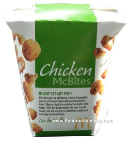 McDonald's Chicken McBites