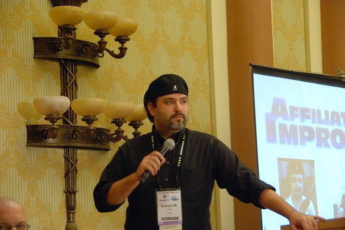 Daniel M. Clark speaks at Affiliate Summit West 2012