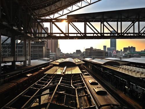 Osaka Station, Osaka, Japan by hidesax