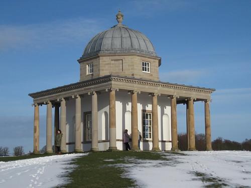 Hardwick Park - Temple of Minerva