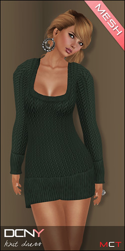 DCNY Panel 34_Mesh Knit Dress @ The Deck