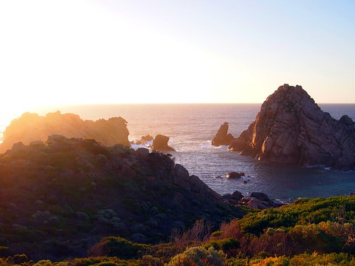 Sunset, Sugarloaf Rock, Margaret River
