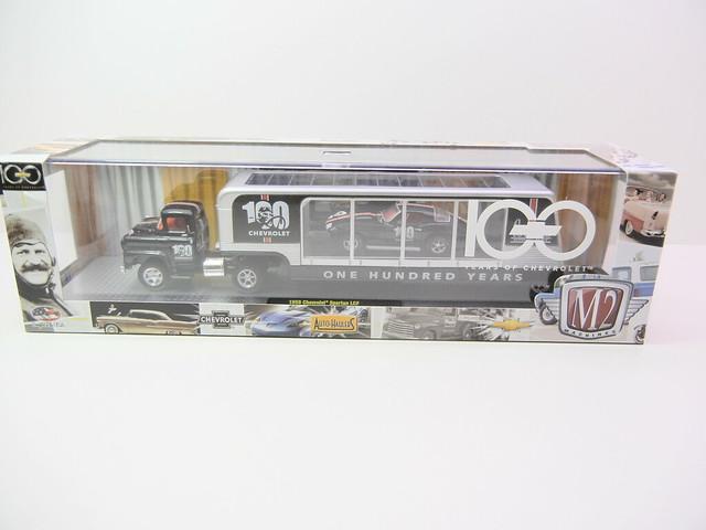 m2 machines auto haulers 100th chevy anniversary (1)