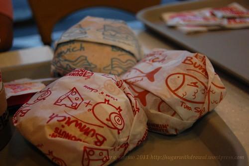 Dunkin Donuts bunwich