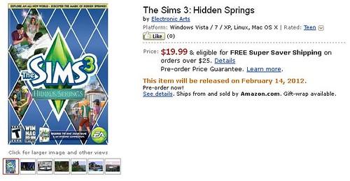 Amazon, GameStop and Hidden Springs!