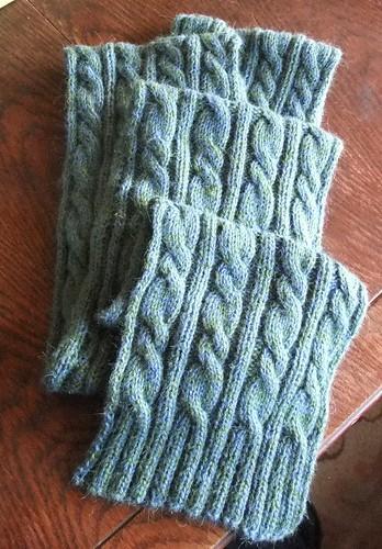 Finished Jackson scarf (1.11.12)