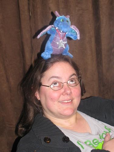 Dragon on my head by jaklumen & family