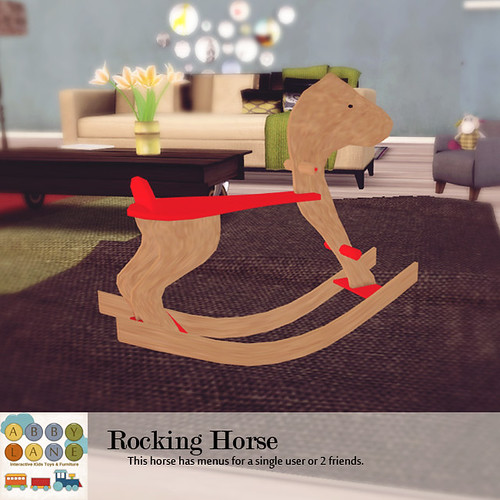 Abby Lane - Rocking Horse Ad