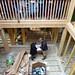 Communal area, Pavilion 4 - Brockwood Park School Pavilions Project