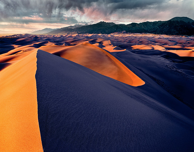 Great Sand Dunes NP - 4x5 Velvia 50 drum scan
