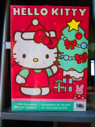Nov 25 Hello Kitty Advent Calendar by sophiefrenchgrl