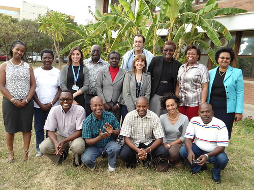 Group photo of the FAO and ILRI Training workshop