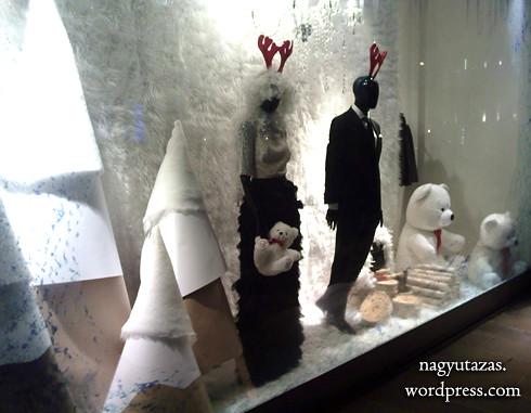 Bolondos karácsonyi kirakatok Törökországban