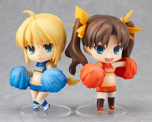 Nendoroid Saber and Rin: Cheerful version