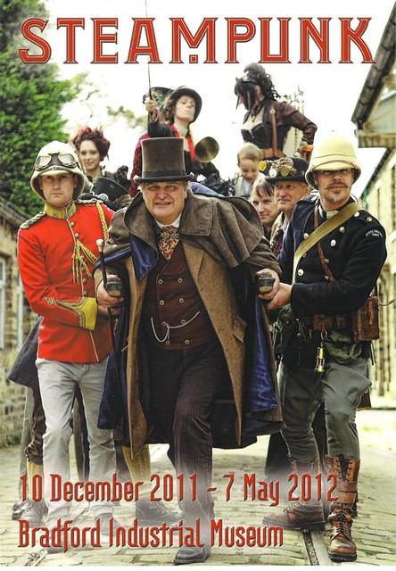 Steampunk Exhibition Flyer