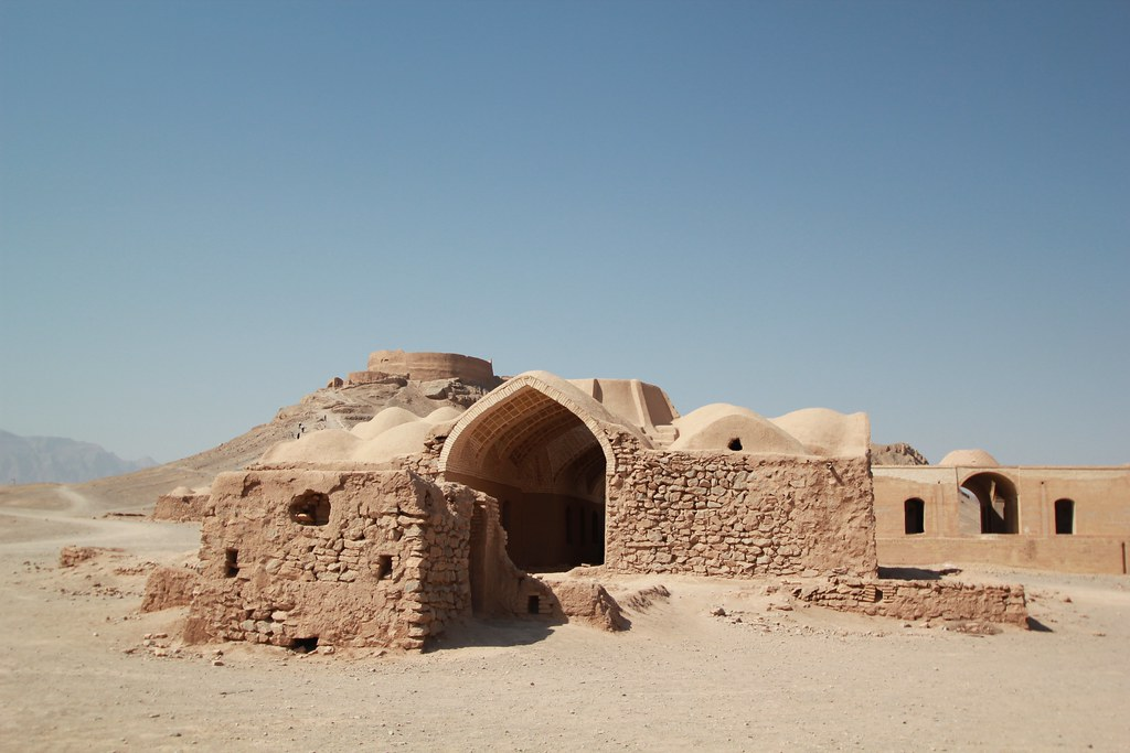 Zoroastrian Tower of Silence in Yazd
