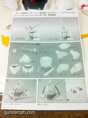Banpresto Gundam Unicorn Head Display  Unboxing  Review (34)