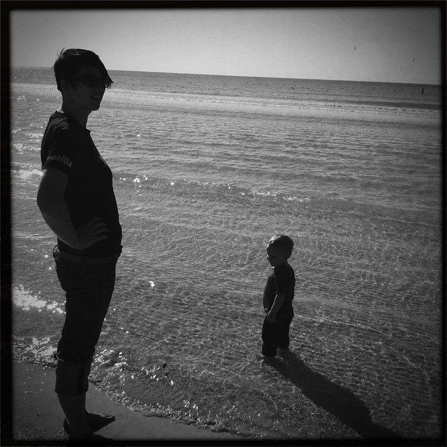 Tara and Rips at Siesta Beach