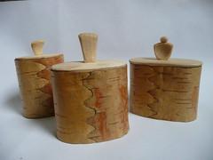 birch bark boxes
