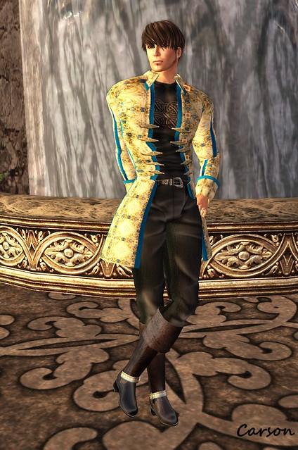 Avatar Bizarre - Baudwin Suit BlueGold