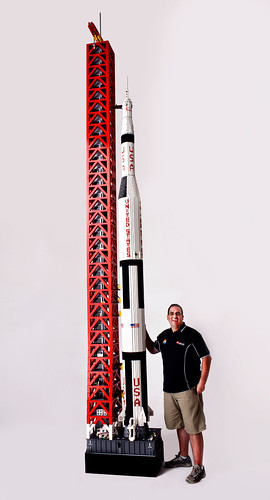Me next to the Saturn V