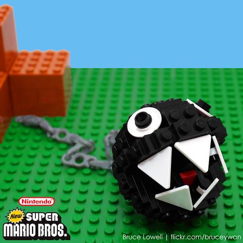 LEGO Chain Chomp by bruceywan