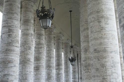 Pillars of St Peter's basilica