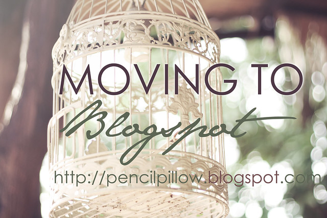Moving to Blogspot
