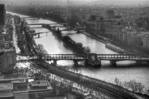 Rio Senna desde Torre Eiffel