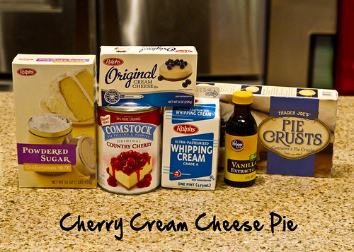 cherry cream chees pie ingredients