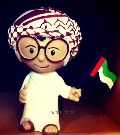 UAE National figurine