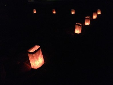 Advent Luminarias by St Nicholas Episcopal