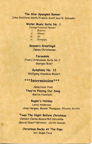 2011 Christmas Concert
