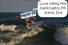 Spirit Rides the American Bankruptcy Wave