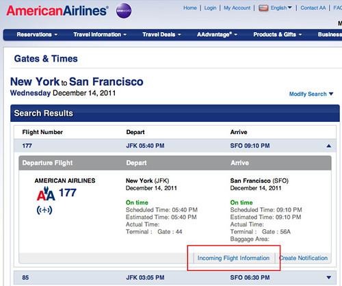 American Airlines Flight Status
