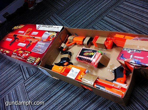 NERF Sale 50% Off Stampede Raider Recon Unboxing Review (56)