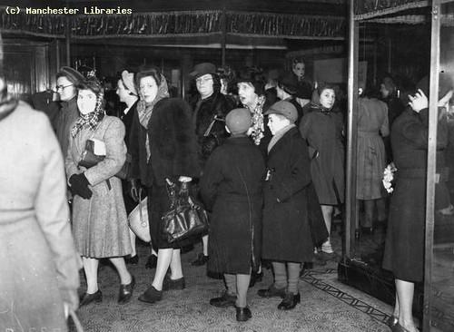January Sales, Jones's Oldham Street, 1948