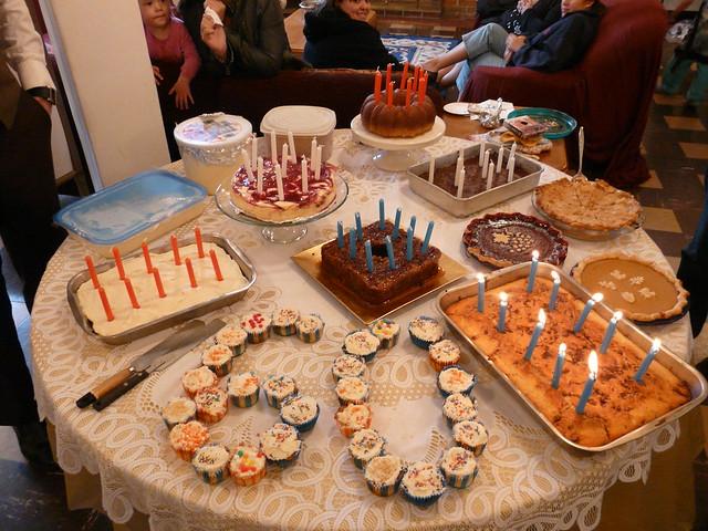 Epic Birthday Cake Table