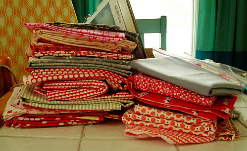 Stack for a New Quilt