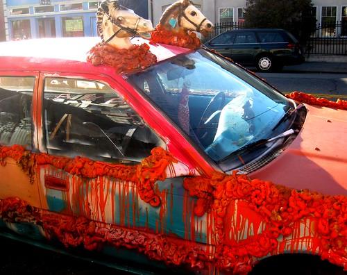 Carousel Car by dyannaanfang