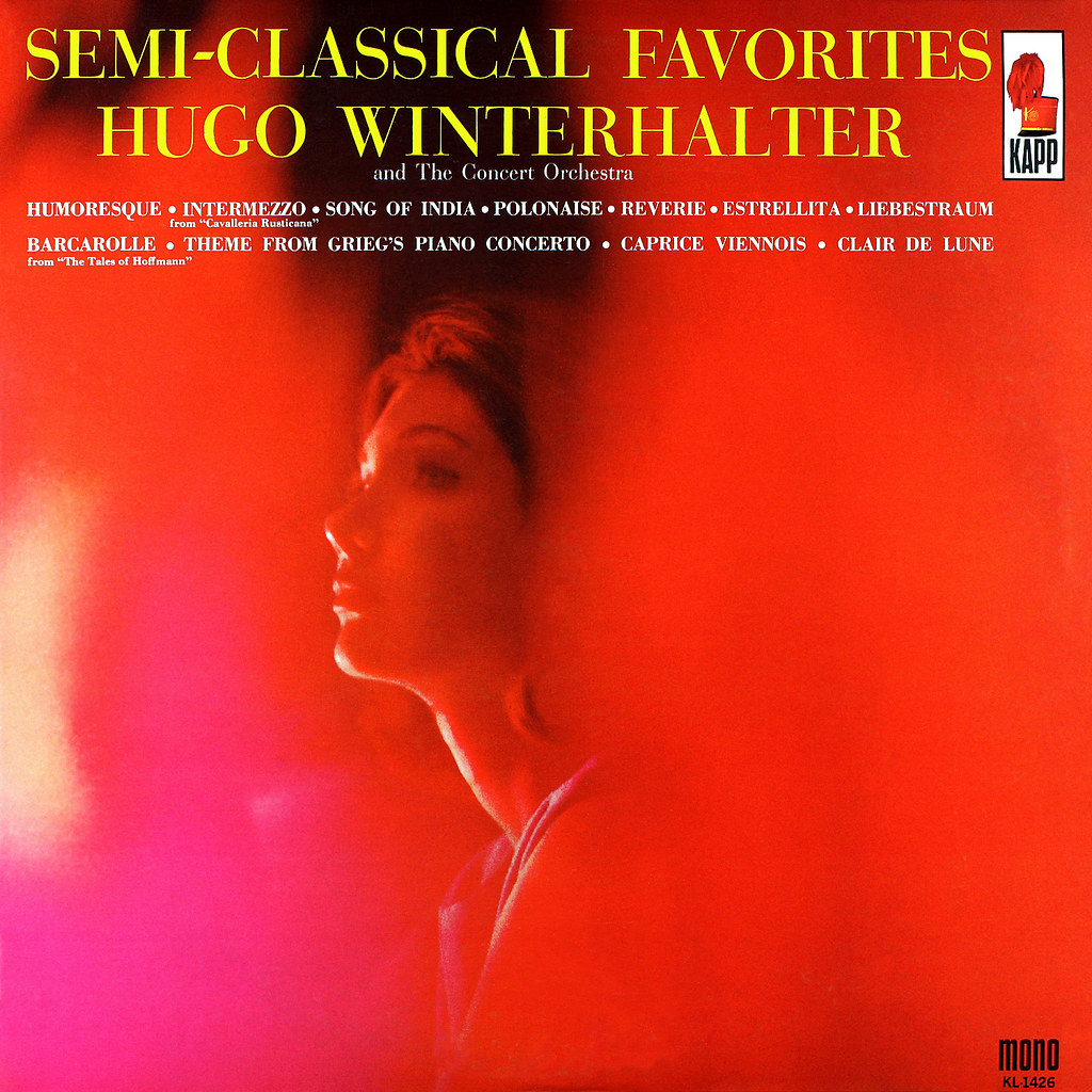 Hugo Winterhalter - Semi-Classical Favorites