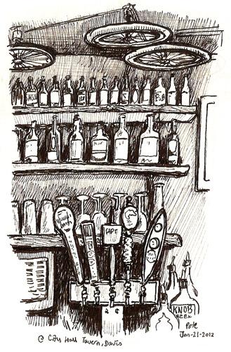 sketchcrawl 34 city hall tavern